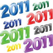 Free 2011 Year. Stock Image - 16844751