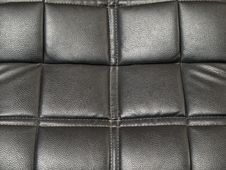 Gray Leather Stock Photo