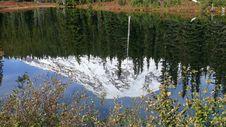 Free Mt. Rainier Reflection Stock Photo - 16845730