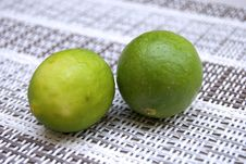 Free Two Limes Stock Images - 16845854