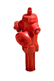 Free Red Fire Hydrant Isolated Stock Photography - 16846052