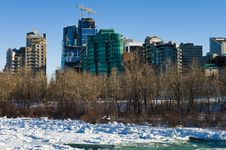Free Winter In Calgary 2 Royalty Free Stock Photos - 16846098