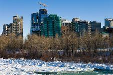 Free Winter In Calgary 2 Royalty Free Stock Photos - 16846098