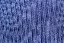 Free Blue Sweater Texture Royalty Free Stock Image - 16846336