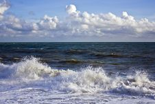Free Storm Waves Stock Image - 16846381