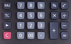 Free Calculator Royalty Free Stock Photos - 16846398