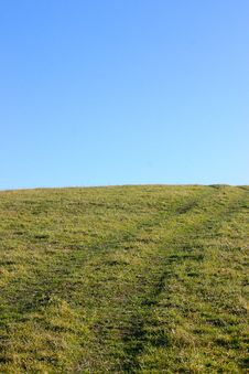 Free Trails In Grass Stock Images - 16846594