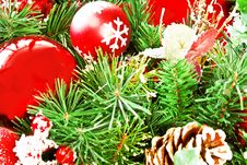 Free Christmas Decoration On The Tree Stock Image - 16846931