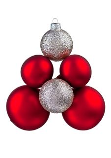 Free Baubles And Holly Stock Photo - 16847340
