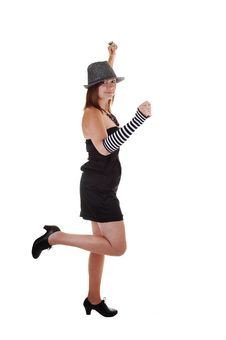 Free Lady With Hat. Royalty Free Stock Images - 16847439