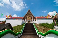 Free Stair Up To Church At Wat Kaolam Temple Stock Photo - 16847440