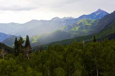 Free Mountain Scene Stock Image - 16847591