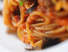 Free Spaghetti Close Up Stock Photo - 16849090