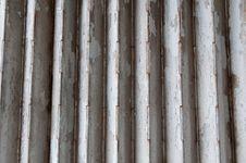Rusting Metal Gate Royalty Free Stock Image