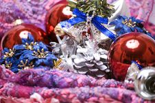 Free Christmas And New Year Decorations Stock Photo - 16849850
