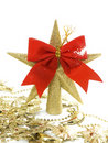 Free Christmas Star Decoration Isolated Royalty Free Stock Images - 16851399