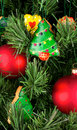 Free Christmas Cookies On The Tree Stock Photos - 16857793