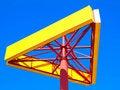 Free Empty Yellow Billboard Royalty Free Stock Photo - 16858305