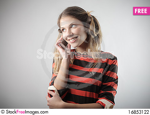 Free Phone Call Stock Photography - 16853122