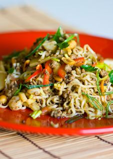 Free Asian Noodles Stock Image - 16850261