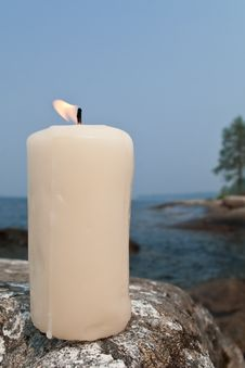 Free Candle Royalty Free Stock Photo - 16851095