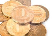 Free Pile Of Coins Royalty Free Stock Images - 16851249