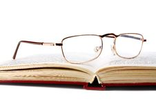 Free Book And Glasses Stock Image - 16851321