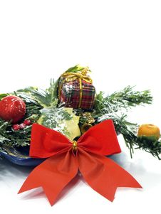 Free Christmas Decoration Isolated Royalty Free Stock Photos - 16851358