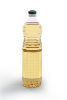 Free Bottle Of Vegetable Oil - Front Stock Image - 16851871