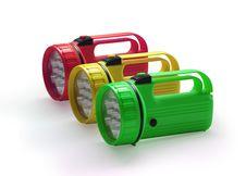 Free Flashlight On White Background Stock Photography - 16851902
