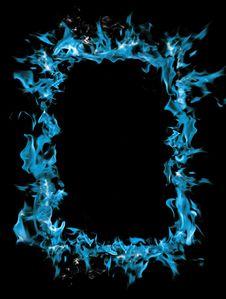Free Burning Frame Stock Image - 16853081