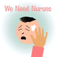 Free Nurses Needed Royalty Free Stock Photos - 16853318