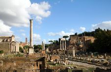 Free Foro Romano In Rome / Italy Stock Photo - 16853420