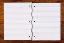 Free Notebook For Records Royalty Free Stock Image - 16853776