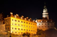 Free Castle In Cesky Krumlov Royalty Free Stock Photography - 16854127