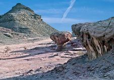 Free Geological Formations At Timna Park, Israel Royalty Free Stock Images - 16854289