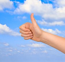 Free Approval Gesture Stock Images - 16854484