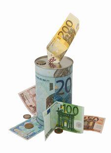 Business Money Box. Royalty Free Stock Image