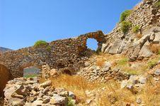 Free Ruins Of Spinalonga 3 Royalty Free Stock Images - 16854729