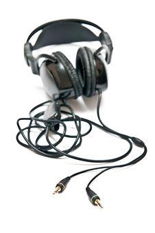Free Black Headphones Stock Photo - 16854740