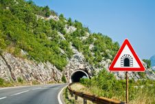 Free Serpentine Road In Montenegro Royalty Free Stock Photos - 16856908