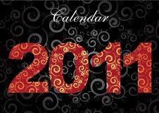 Calendar For 2011 Stock Image