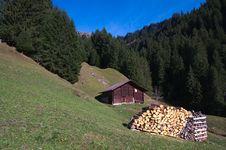 Swiss Mountain Scenic Royalty Free Stock Photo