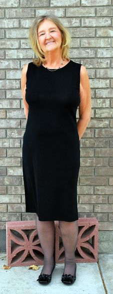 Little Black Dress. Stock Image