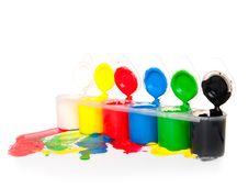 Colour-box Royalty Free Stock Photo