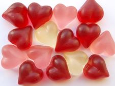 Free Heart Candies Royalty Free Stock Photos - 16859328