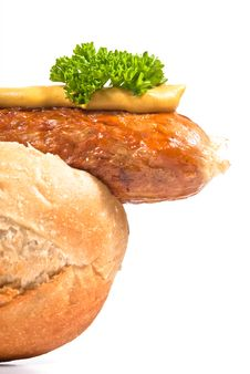 Free V4 Sausage In A Roll Royalty Free Stock Photos - 16859368