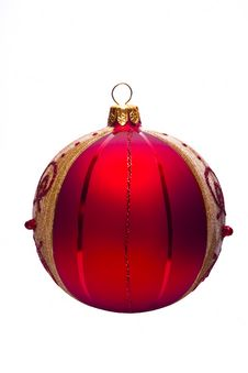 Free Red Christmas Ball Royalty Free Stock Photo - 16859725