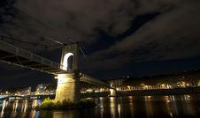 Free Lyon By Night Stock Photo - 16859890