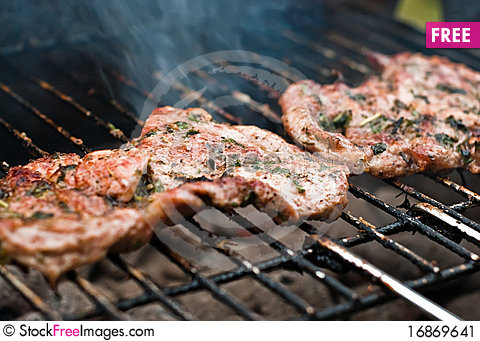Free Grill Meat V2 Stock Image - 16869641